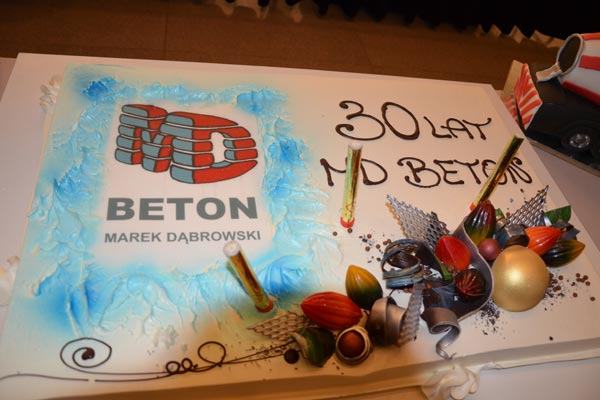 Jubileusz 30-lecia MD Beton